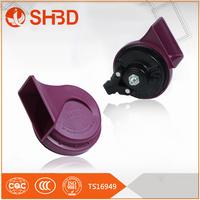shbd three pipe air horn/auto horn/truck bus car horn 12v or 24v For Peugeot car