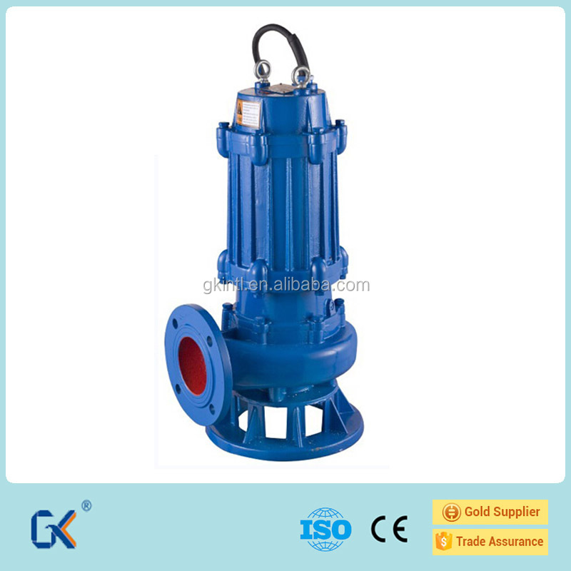 Submersible Sand Sewage Pump Mechanism