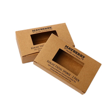 Pieghevole <span class=keywords><strong>personalizzato</strong></span> Kraft Paper <span class=keywords><strong>Sapone</strong></span> Imballaggio Scatola <span class=keywords><strong>di</strong></span> Carta Con Finestra