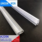 shower door water strip Glass Fitting Accessories Shower Screen Seal Strip for 6mm Curved Flat Glass Bath Room Door Parts