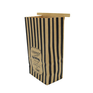 High quality brown kraft donut gift candy christmas apple packaging paper box