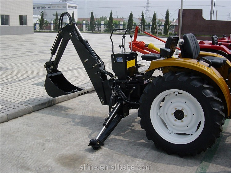 China manufacturer best quality tractor mini backhoe