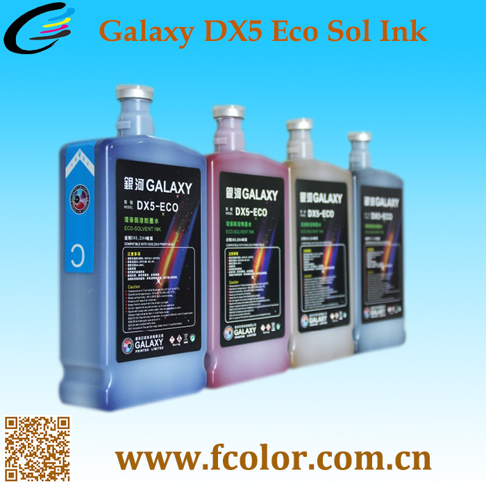 Original Outdoor Galaxy ECO Solvent Ink for DX5 MIMAKI Printer