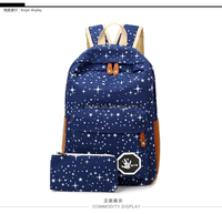2016 Hot Sale Canvas Women backpack Big Capacity School Bags For Teenagers Printing Backpacks For Girls Mochila Escolar