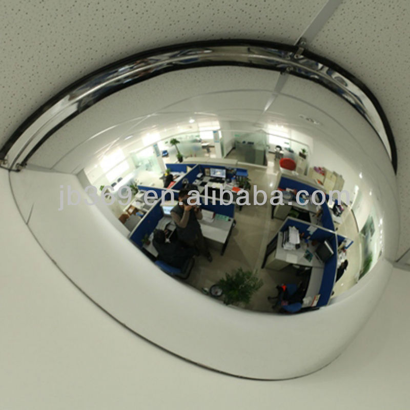 Unbreakable 180 degree half Dome Polycarbonate Observation Mirrors