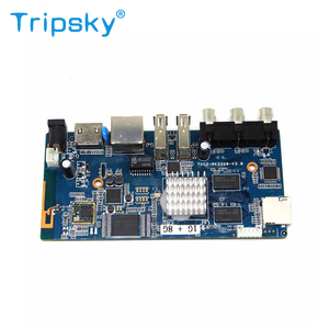 Android rockchip RK3368 Octa core tv box motherboard with Android 7 1  version Industrial design