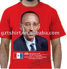Cheap election campaign t-shirt as free gifts