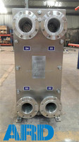 Stainless steel titanium coil plate heat exchanger with highest quality