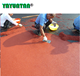 non yellowish Polyurethane gravel bond/rubber crumb resins PU binder