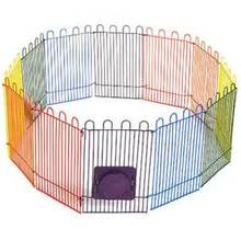 8 panel Pet Dog Cat Exercise Pen Playpen Fence Yard Kennel Portable