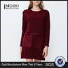 MGOO Customize logo Fashion Clothing European Style Casual Dress Wine Red Celebrity Dress For women White