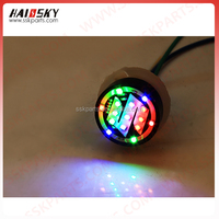 HAISSKY LED Auto Flashing Light for Motorcycle& Decoration Product for Motor