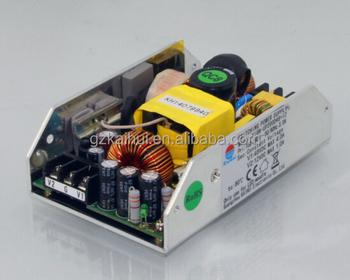 ETL CE 60v 24v Dual Output smps 200w ac dc power supply open frame ...