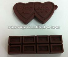 chocolate shaped promotional usb drives USB-stick flash memory