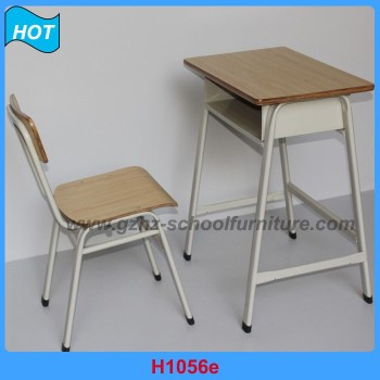 Plywood Material University Desk And Chair Kid Student Study Table Set