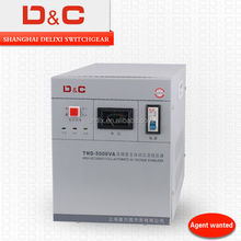 [D&C] Shanghai delixi 5KVA svc 5000va ac automatic voltage regulator