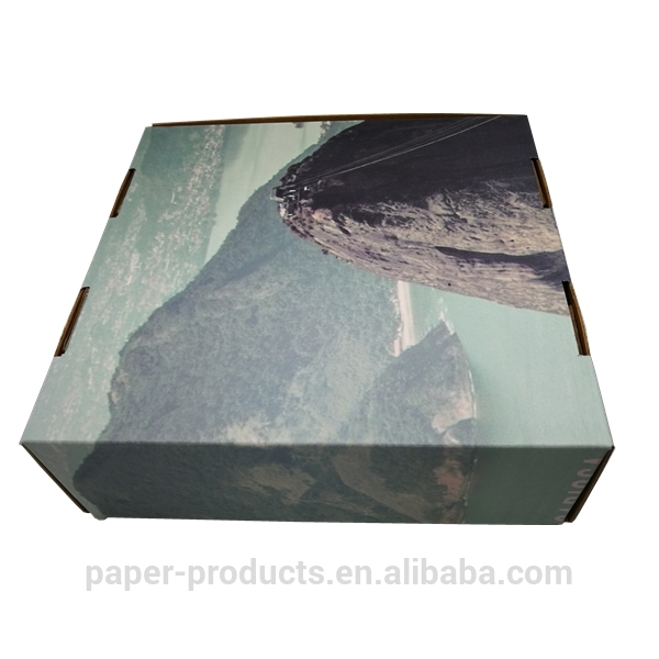 2019 New  product custom black paper packing boxes cartons made in China