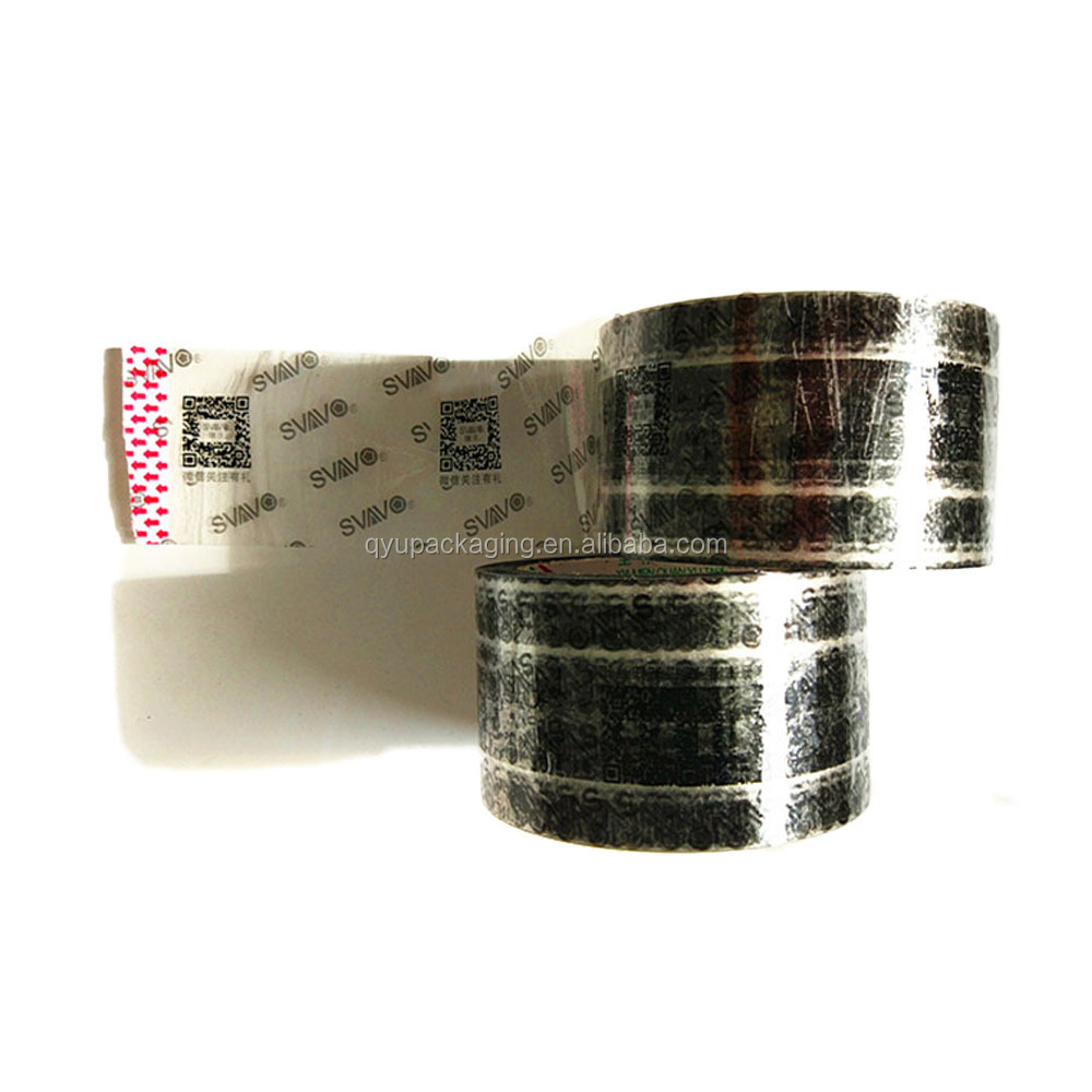 QR code scannable printing BOPP packing adhesive tape