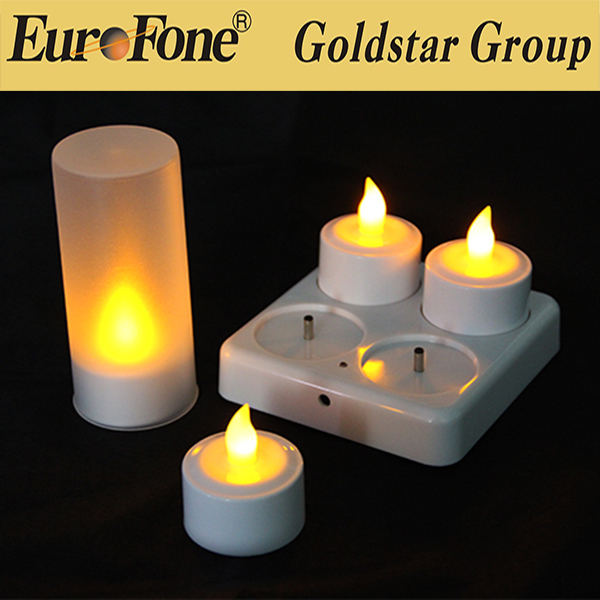 2017 new style outdoor led rechargeble tealight candles for sale