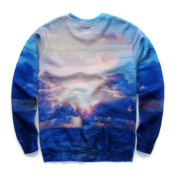Hot sale sublimation athletic low price printed sweatshirts