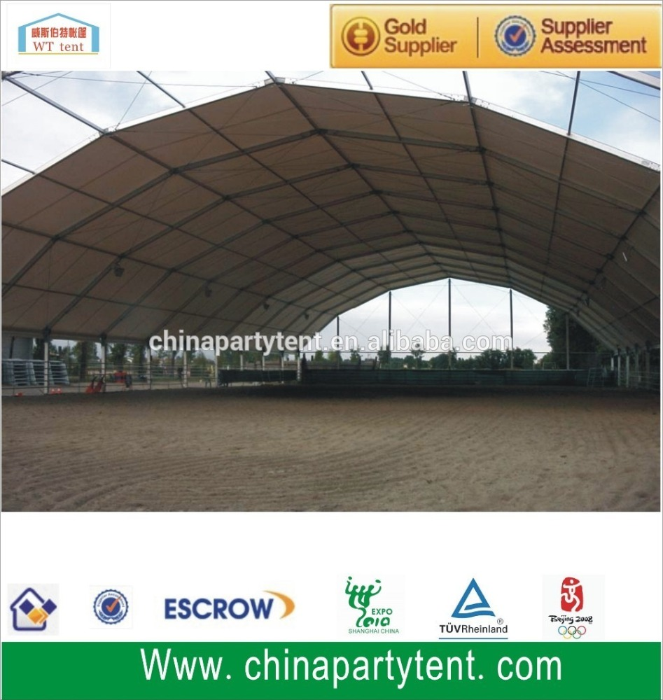300 people cheap used party wedding wihte marquee frame tent for sale