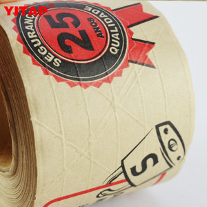 Available In Colors Packaging Strong Seal Printed Custom Craft Paper Tape