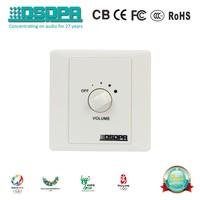 DSPPA PA system digital Romote Volume Control switch/Volume Controller (6W, 30W, 60W, 120W, 200W) WH-1 Series