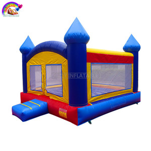 Plato 0.55mm PVC Inflatable Bouncer Commercial Grade Bouncy Castle For Sale