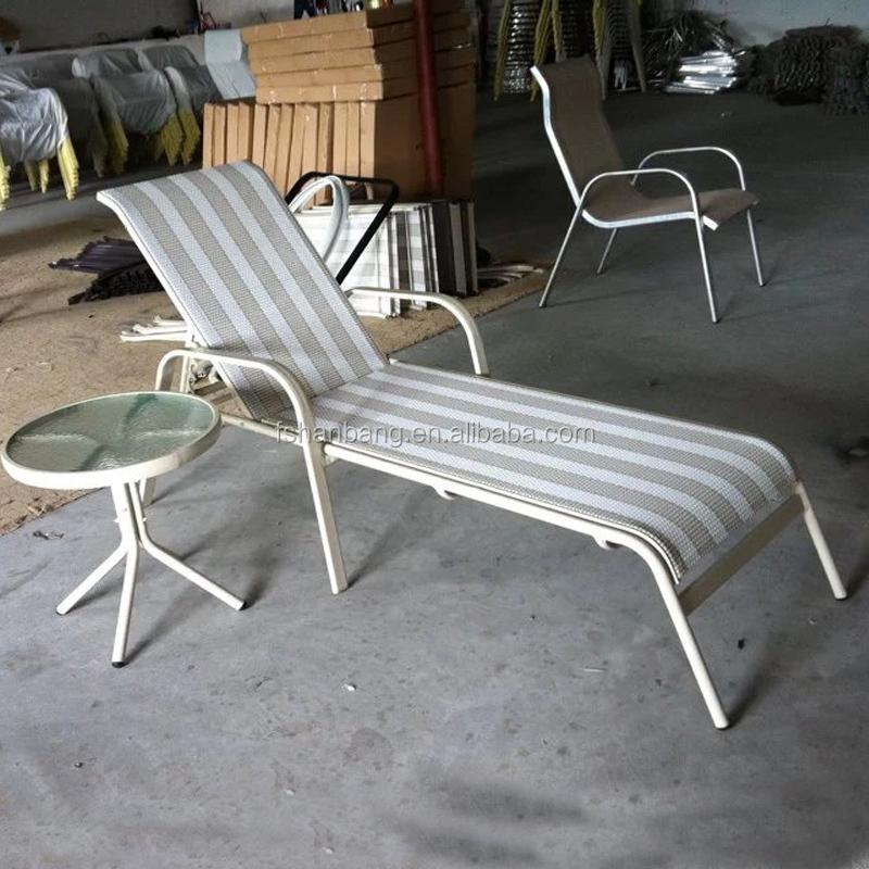 Outdoor Pool Aluminum Beach Lounge Chair Sun Lounger Buy Aluminum Beach Lou