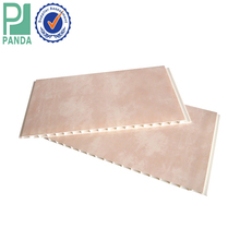 Indoor Waterproof And Fireproof Decorative PVC Ceiling And PVC Wall Panel