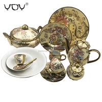 78pcs porcelain bone china dinner set royal pakistan ceramic sets