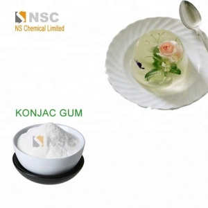 China manufacturer Kosher Halal Certificated Konjac gum powder with best price