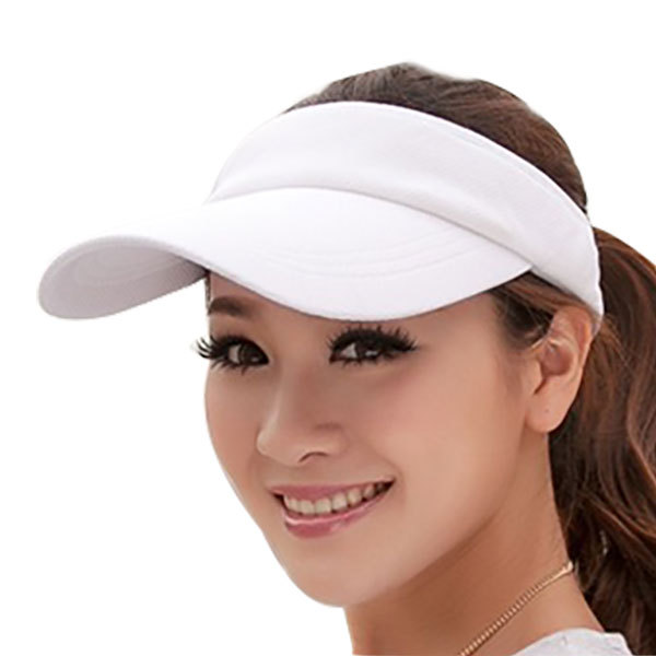 New Fashion Visor Hat Summer Women's Sun Hat Baseball Caps Adjustable Size Viseira Beanies for women ladies Beach Sun Hats Cap