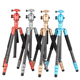 Colorful Q868C carbon fiber 2 in 1 camera tripod monopod OEM welcome