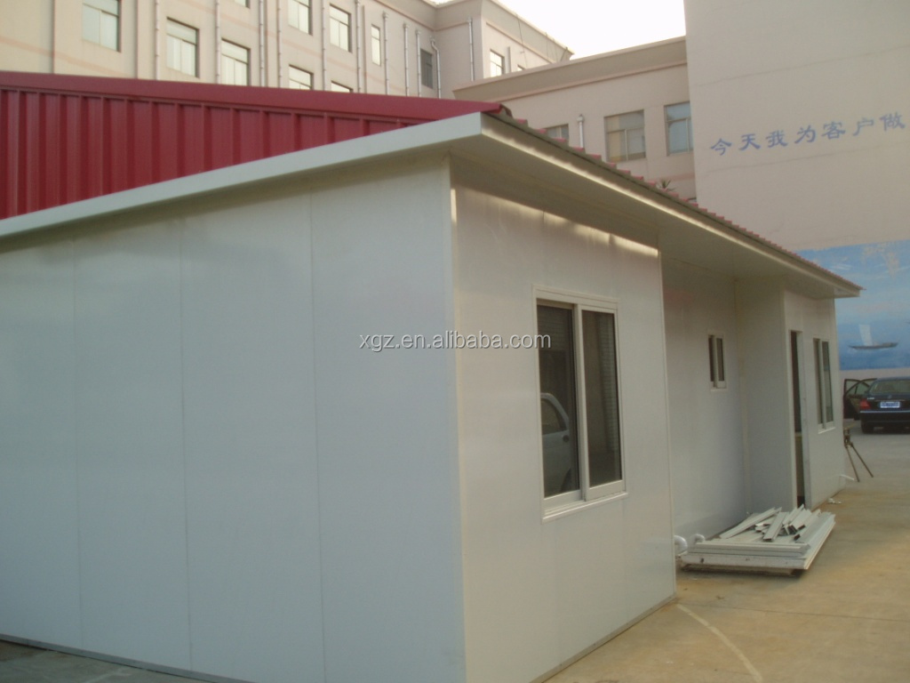 best selling low cost nice prefab house kits in angola