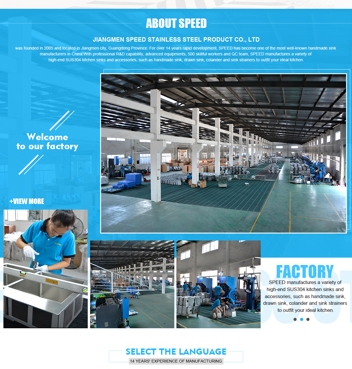 Jiangmen Speed Stainless Steel Product Co., Ltd. - Stainless Steel ...