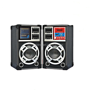 8 Inch Professional Active Stage Speaker Multimedia Stage Speaker Box with Sound System