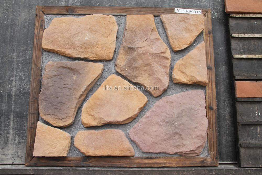 Stenen muur voor tuin - Decoratie stenen tuin ...