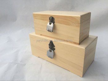 Hot Sales Wooden Jewelry Box With Lock SL BPW046