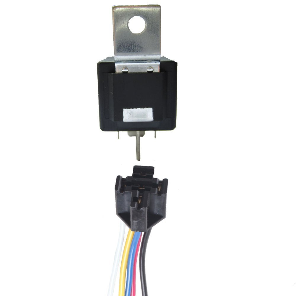 Cheap Relay 5 Pin Find Deals On Line At Alibabacom 4 Universal Get Quotations E Support Iron Back Car 40a Socket 5pin