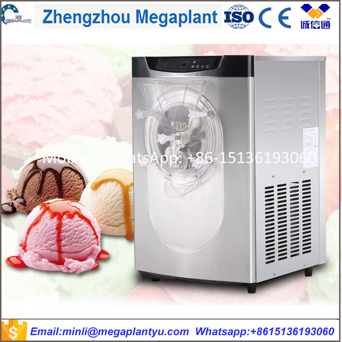 Commercial Automatic hard batch freezer ice cream machine / batch freezer