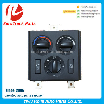 Oem 21318123 20508581 Heavy Duty European Truck Auto Electrical System Air  Condition Switch Volvo Truck Ac Control Panel Switch - Buy Volvo Truck Air