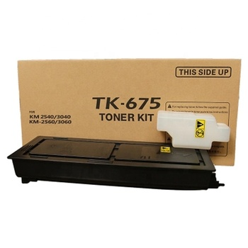 Compatible Kyocera TASKalfa TK675 Toner Cartridge For KM-2540 KM-2560 KM-3040 KM-3060 TK-675 TK677 TK678 TK679