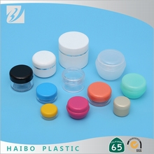 shangyu empty containers wholesale pp white plastic eco friendly cosmetic eye cream jar