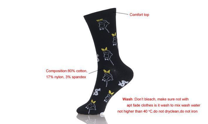 Bulk Wholesale Custom Mens Patterned Socks