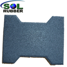 anti-static outdoor rubber flooring tile