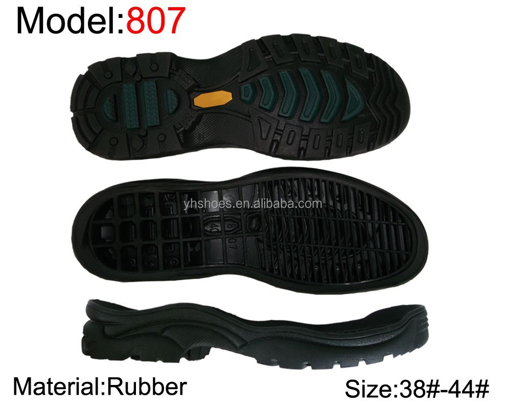 New design non--slip rubber shoe sole material(KL807)