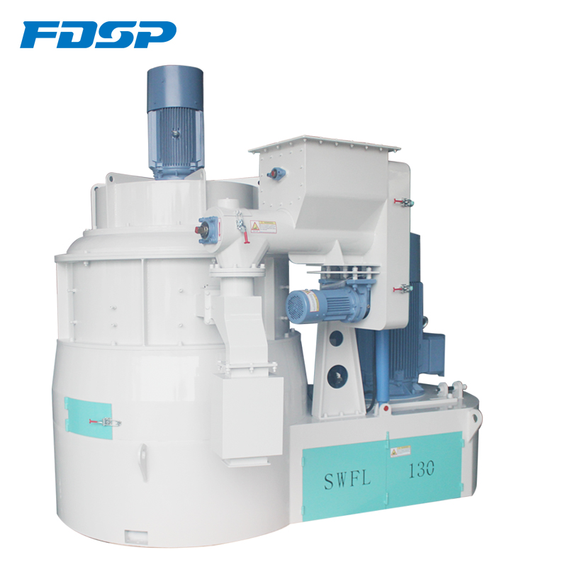 SWFL150 Vertical Pulverizer Milling Machine for 4-5TPH Fish/Shrimp Feed Mill Plant Price