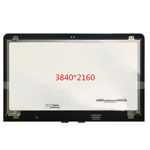 "15.6"" 3840*2160 UHD 4K IPS LCD LED Touch Screen Glass Digitizer Assembly For HP ENVY x360 15-AS series laptops"