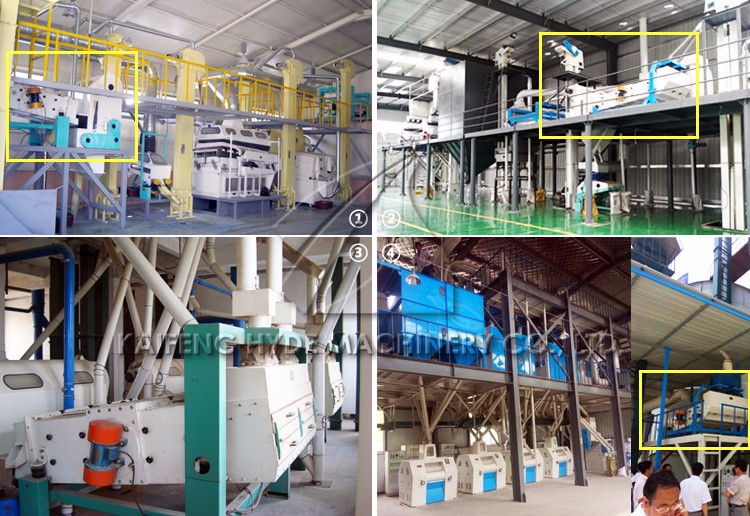 Grain vibration cleaner rice seed precleaning machine